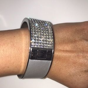 Swarovski crystal bangle size small
